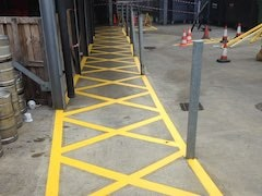 Health and Safety Line Marking - Hi-Line Markings